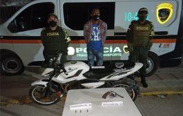 Por el delito de porte ilegal de armas de fuego, capturado hombre en Bosconia