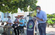 Con cinco motocicletas para la Policía se reforzará seguridad en el municipio de Bosconia