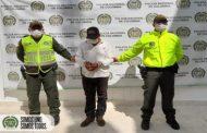 Capturado por orden judicial por el delito de acceso carnal violento