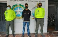 Asegurado un hombre involucrado en más de cinco hurtos en el municipio de Ocaña (Norte de Santander) y Río de Oro (Cesar)