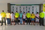 A la cárcel siete presuntos integrantes de la banda Los Caravaneros