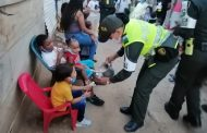 En Brisas del Edén, la Policía desarrolló jornada de integración
