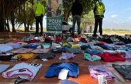 Por vender zapatos y ropa de marca falsificadas capturada una persona en Valledupar