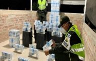 La Polfa aprehendió 7.500 cajetillas de cigarrillo de contrabando