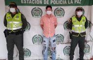 Presunto abusador sexual fue capturado en La Paz (Cesar)