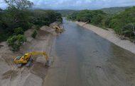 Avanza obra de restauración geomorfológica en un tramo del río Cañas en Dibulla, La Guajira