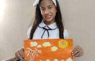 Sara Sofía, la niña que empieza mostrarse con sus obras artísticas
