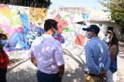 Viceministro de cultura conoció los adelantos del plan de embellecimiento del Centro Histórico y barrio Cañaguate