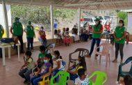 Icbf realizó jornada de atención a indígenas Wiwa en La Guajira