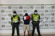 Cayó en Aguachica, uno de los más buscados en el Cesar; es sindicado de homicidio agravado