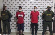 Por homicidio, capturados dos venezolanos en Pelaya, Cesar