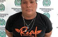Capturado mediante orden judicial por el delito de acceso carnal violento