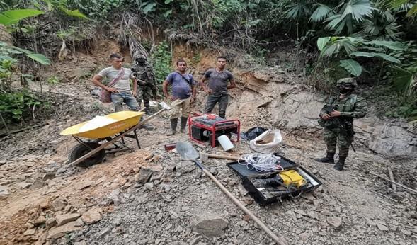 En La Guajira, intensifican acciones en contra de la minería ilegal