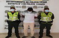 Por los delitos de rebelión y secuestro extorsivo, capturado hombre en La Jagua de Ibirico