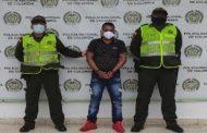 Capturado por concierto para delinquir en Aguachica (Cesar)