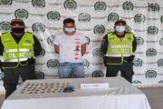 En Valledupar capturado hombre con 150 dosis marihuana