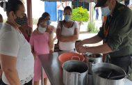 EL Grupo Ubicar Unipep de la Policía Cesar capacitó en culinaria a 20 mujeres
