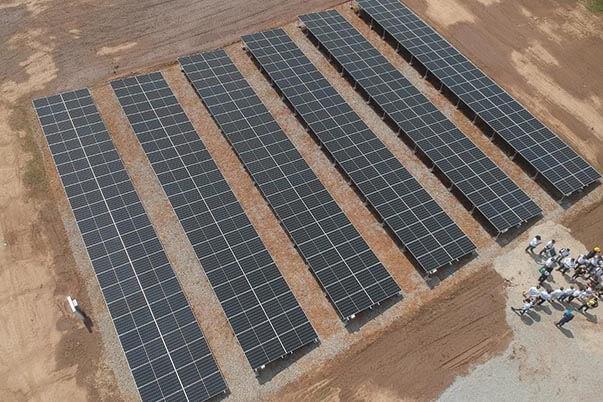 El Sena inauguró en Valledupar el Sistema Fotovoltaico en el Centro Biotecnológico del Caribe