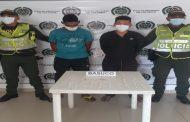Tres personas capturadas en el Cesar con estupefacientes