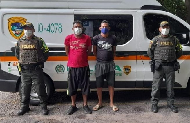 Cayeron al pretender evadir detención domiciliaria en Valledupar