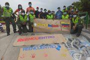 La Policía lideró jornada de reencuentro para el deporte en Valledupar
