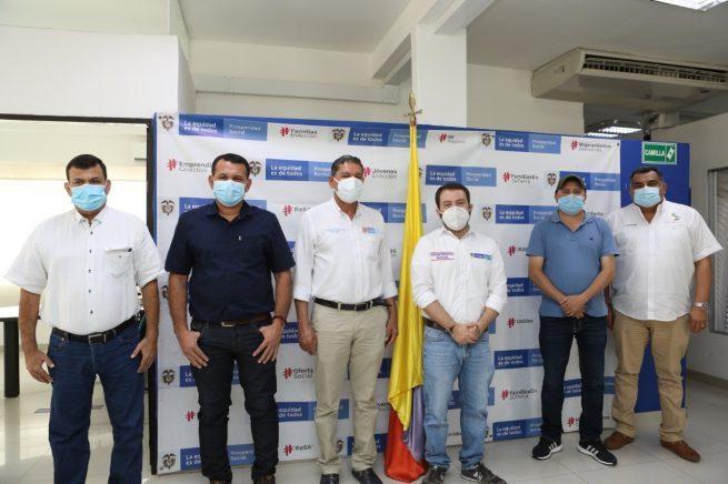 Firman convenios para construcción de obras de infraestructura social y productiva en Cesar