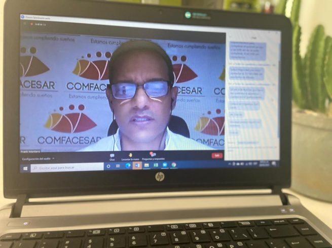 Comfacesar realizó la 44 asamblea general extraordinaria de afiliados de forma virtual