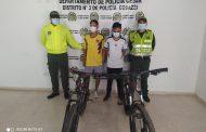 Cayeron por robar bicicletas en medio de la protesta social en La Jagua de Ibirico (Cesar)
