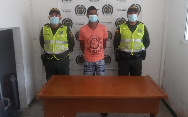 Señalado de abusar sexualmente a una menor de edad fue capturado en La Gloria, Cesar