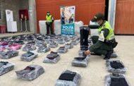 2.880 unidades de confecciones de contrabando fueron incautadas