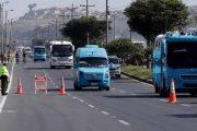 Buscan amparar vehículos de servicio público durante las manifestaciones