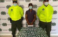 En Bosconia capturada una persona con 441 papeletas de bazuco
