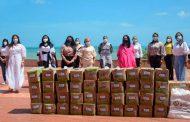 Entregan 33.600 unidades de leche, 700 mercados y 160 kits en La Guajira