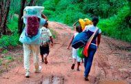 Desplazamiento forzado en Colombia subió un 101 % en comparación a 2020: ONU