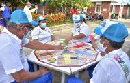 En San Martín (Cesar), adultos mayores recibieron atención especial