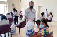 Entrega de donaciones a 500 mujeres cabeza de familia en La Guajira