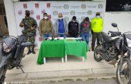 A la cárcel cuatro hombres por el delito de porte de armas de fuego en San Martín (Cesar)