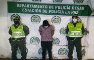 Cayó en La Paz (Cesar), presunto abusador sexual de menor de edad