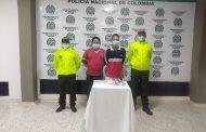 Dos hombres detenidos por porte de arma de fuego en Valledupar