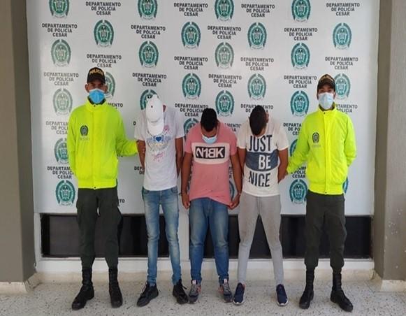 """Cayó la banda """"Los Stunt"""", dedicada a la hurto a personas y de celulares en Valledupar"""