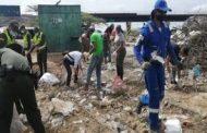 3.200 toneladas de residuos sólidos fueron retiradas del parador turístico de Cuatro Vías (La Guajira)