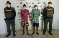 Señalados de homicidio, capturados en Gamarra, Cesar