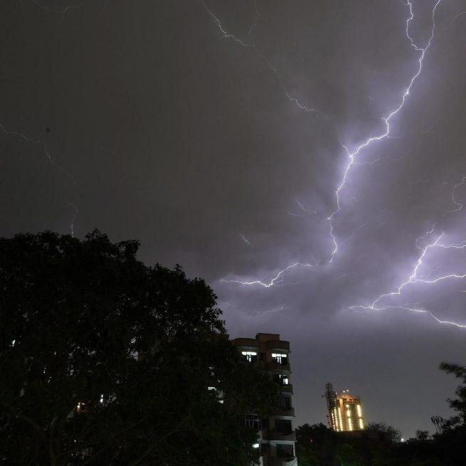 India: 38 muertos por rayos en 24 horas