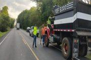 Bloques de producto forestal maderable fueron incautados en la vía Riohacha – Palomino