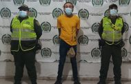 Alias Huesito, capturado en Valledupar sindicado de homicidio