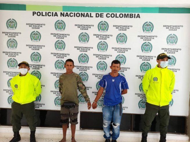 Dos capturados por hurto calificado en Valledupar