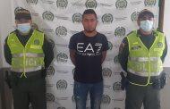 En el Cesar, capturado sindicado de homicidio y concierto para delinquir agravado en el Magdalena
