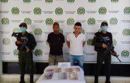 Capturados por el Gaula de la Policía por extorsión en Valledupar