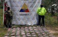 En el Cesar, incautan 89 paquetes de clorhidrato de cocaína que iban ocultos en una ambulancia
