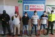 A la cárcel cuatro presuntos responsables de homicidios en La Guajira
